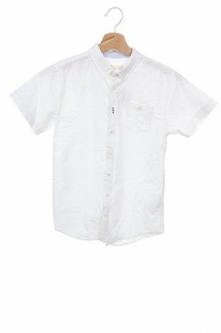 Παιδικό πουκάμισο ZY kids, Μέγεθος 10-11y/ 146-152 εκ., Χρώμα Λευκό, Βαμβάκι, Τιμή 11,06€