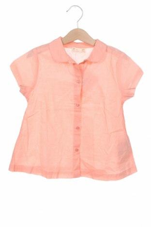 Παιδικό πουκάμισο ZY kids, Μέγεθος 4-5y/ 110-116 εκ., Χρώμα Ρόζ , Βαμβάκι, Τιμή 6,86€