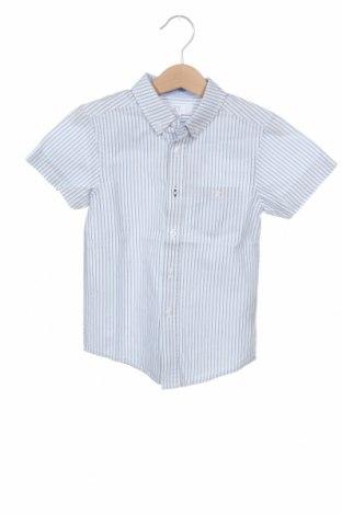 Παιδικό πουκάμισο ZY kids, Μέγεθος 2-3y/ 98-104 εκ., Χρώμα Μπλέ, Βαμβάκι, Τιμή 14,69€