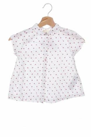 Παιδικό πουκάμισο ZY kids, Μέγεθος 4-5y/ 110-116 εκ., Χρώμα Λευκό, Βαμβάκι, Τιμή 9,80€