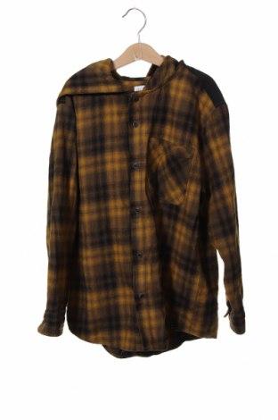 Детска риза Zara, Размер 8-9y/ 134-140 см, Цвят Жълт, Памук, Цена 22,05лв.
