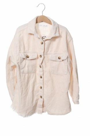 Детска риза Zara, Размер 8-9y/ 134-140 см, Цвят Екрю, Цена 18,27лв.