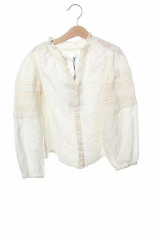 Παιδικό πουκάμισο Zara, Μέγεθος 6-7y/ 122-128 εκ., Χρώμα Εκρού, Βαμβάκι, Τιμή 11,37€
