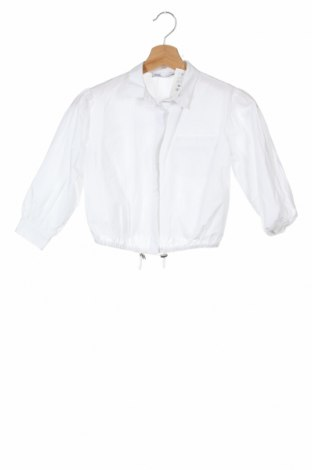 Детска риза Zara, Размер 5-6y/ 116-122 см, Цвят Бял, Памук, Цена 20,16лв.