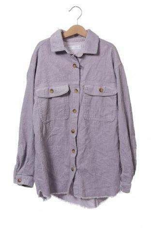 Детска риза Zara, Размер 13-14y/ 164-168 см, Цвят Лилав, Памук, Цена 20,16лв.
