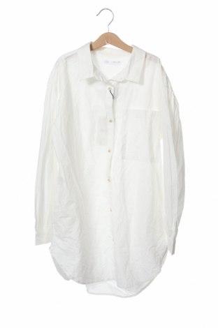 Παιδικό πουκάμισο Zara, Μέγεθος 13-14y/ 164-168 εκ., Χρώμα Λευκό, Βαμβάκι, Τιμή 11,37€