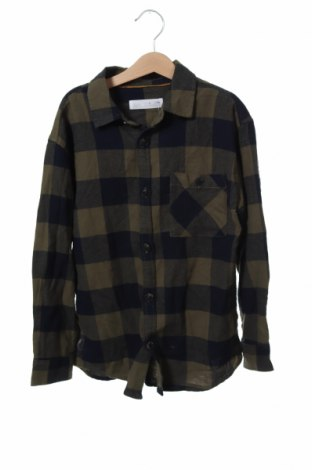 Детска риза Zara, Размер 7-8y/ 128-134 см, Цвят Зелен, Памук, Цена 20,16лв.