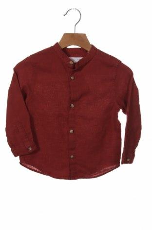 Παιδικό πουκάμισο Zara, Μέγεθος 18-24m/ 86-98 εκ., Χρώμα Κόκκινο, Τιμή 17,17€