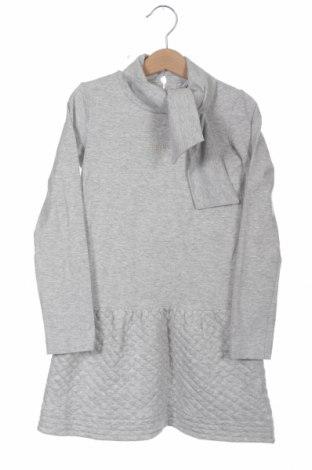 Παιδικό φόρεμα Armani Junior, Μέγεθος 7-8y/ 128-134 εκ., Χρώμα Γκρί, 95% βαμβάκι, 5% ελαστάνη, Τιμή 42,68€