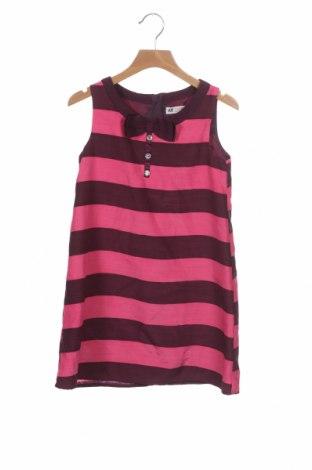 Rochie pentru copii H&M, Mărime 6-7y/ 122-128 cm, Culoare Roz, Poliester, Preț 59,21 Lei