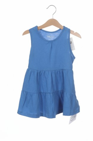 Dětské šaty  Mo, Velikost 18-24m/ 86-98 cm, Barva Modrá, Bavlna, Cena  142,00Kč