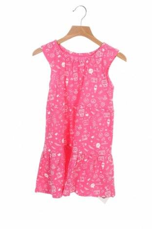 Детска рокля ZY kids, Размер 4-5y/ 110-116 см, Цвят Розов, Памук, Цена 18,40лв.