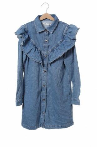 Παιδικό φόρεμα Zara, Μέγεθος 13-14y/ 164-168 εκ., Χρώμα Μπλέ, 100% βαμβάκι, Τιμή 18,95€