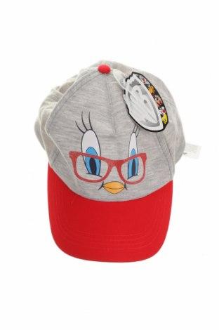 Детска шапка Looney Tunes, Цвят Сив, 80% полиестер, 20% памук, Цена 8,05лв.