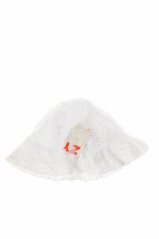 Детска шапка ZY kids, Цвят Бял, Памук, Цена 6,90лв.