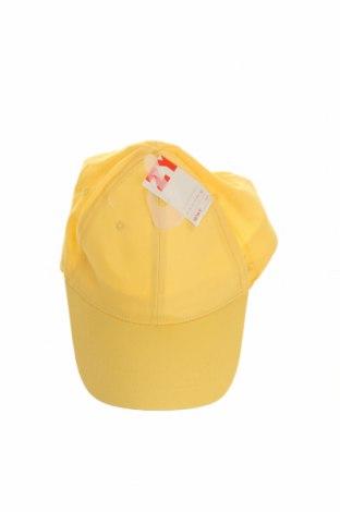 Детска шапка ZY kids, Цвят Жълт, Памук, Цена 6,21лв.