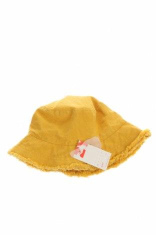 Παιδικό καπέλο ZY kids, Χρώμα Κίτρινο, Βαμβάκι, Τιμή 7,47€