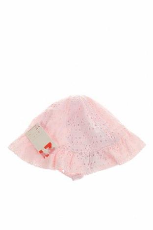 Детска шапка ZY kids, Цвят Розов, Памук, Цена 5,75лв.