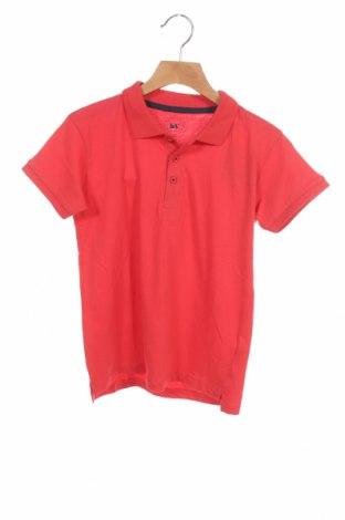 Детска тениска, Размер 7-8y/ 128-134 см, Цвят Червен, Памук, Цена 16,50лв.