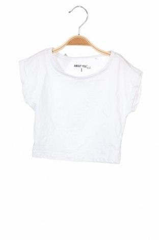 Детска тениска About You, Размер 18-24m/ 86-98 см, Цвят Бял, Памук, Цена 19,50лв.