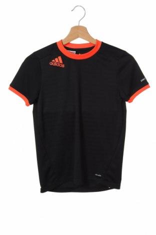 Детска тениска Adidas, Размер 11-12y/ 152-158 см, Цвят Черен, Полиестер, Цена 25,50лв.