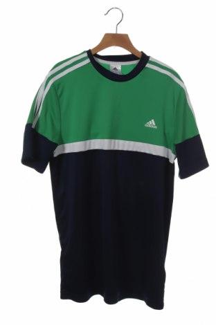 Παιδικό μπλουζάκι Adidas, Μέγεθος 15-18y/ 170-176 εκ., Χρώμα Μπλέ, 100% πολυεστέρας, Τιμή 12,06€