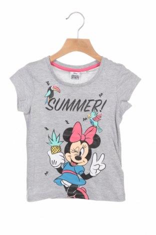 Παιδικό μπλουζάκι Disney, Μέγεθος 3-4y/ 104-110 εκ., Χρώμα Γκρί, 93% βαμβάκι, 7% πολυεστέρας, Τιμή 7,37€