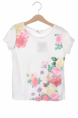 Детска тениска H&M, Размер 6-7y/ 122-128 см, Цвят Многоцветен, Памук, Цена 16,50лв.