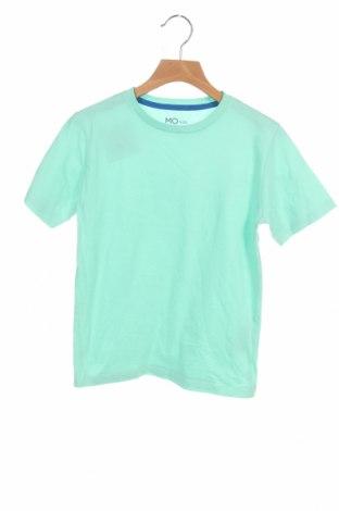 Детска тениска Mo, Размер 7-8y/ 128-134 см, Цвят Зелен, Памук, Цена 18,00лв.