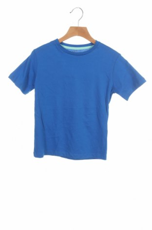 Детска тениска Mo, Размер 5-6y/ 116-122 см, Цвят Син, Памук, Цена 18,00лв.