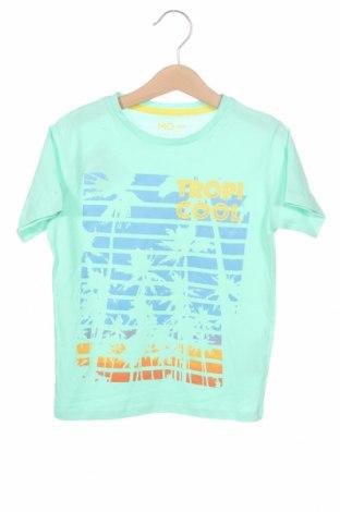 Детска тениска Mo, Размер 3-4y/ 104-110 см, Цвят Зелен, Памук, Цена 18,00лв.