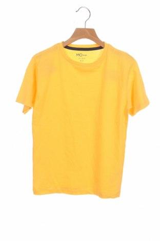 Детска тениска Mo, Размер 9-10y/ 140-146 см, Цвят Жълт, Памук, Цена 10,40лв.
