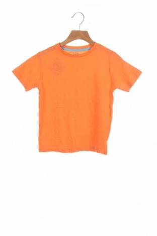 Детска тениска Mo, Размер 4-5y/ 110-116 см, Цвят Оранжев, Памук, Цена 18,00лв.