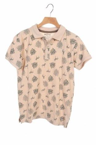 Детска тениска Mo, Размер 8-9y/ 134-140 см, Цвят Бежов, Памук, Цена 19,50лв.