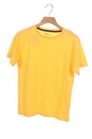 Детска тениска Mo, Размер 9-10y/ 140-146 см, Цвят Жълт, Памук, Цена 18,00лв.