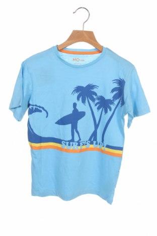 Παιδικό μπλουζάκι Mo, Μέγεθος 6-7y/ 122-128 εκ., Χρώμα Μπλέ, Βαμβάκι, Τιμή 4,45€