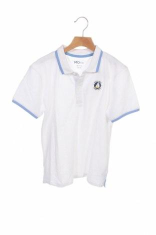 Детска тениска Mo, Размер 11-12y/ 152-158 см, Цвят Бял, Памук, Цена 10,40лв.
