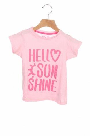 Tricou pentru copii Mo, Mărime 2-3y/ 98-104 cm, Culoare Roz, Bumbac, Preț 51,32 Lei