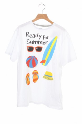 Παιδικό μπλουζάκι Mo, Μέγεθος 12-13y/ 158-164 εκ., Χρώμα Λευκό, 100% βαμβάκι, Τιμή 7,37€