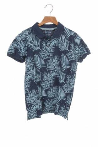 Детска тениска Mo, Размер 9-10y/ 140-146 см, Цвят Син, Памук, Цена 19,50лв.