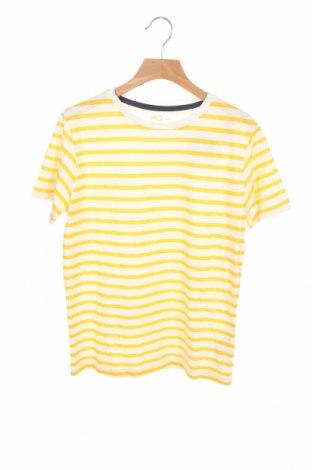 Детска тениска Mo, Размер 8-9y/ 134-140 см, Цвят Жълт, Памук, Цена 9,88лв.