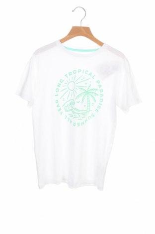 Детска тениска Mo, Размер 8-9y/ 134-140 см, Цвят Бял, 100% памук, Цена 19,50лв.