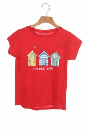 Детска тениска Mo, Размер 8-9y/ 134-140 см, Цвят Червен, 100% памук, Цена 18,00лв.