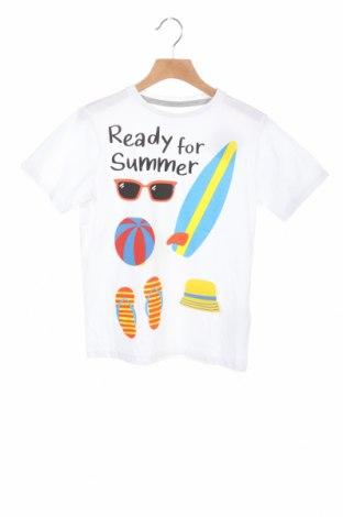 Παιδικό μπλουζάκι Mo, Μέγεθος 6-7y/ 122-128 εκ., Χρώμα Λευκό, 100% βαμβάκι, Τιμή 6,80€