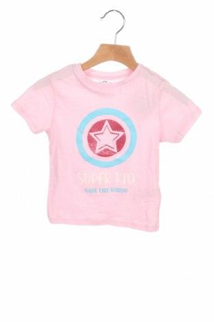 Детска тениска Mo, Размер 2-3y/ 98-104 см, Цвят Розов, Памук, Цена 19,50лв.