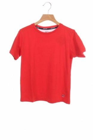 Детска тениска Mo, Размер 6-7y/ 122-128 см, Цвят Червен, Памук, Цена 18,00лв.