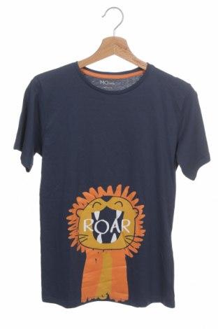 Παιδικό μπλουζάκι Mo, Μέγεθος 11-12y/ 152-158 εκ., Χρώμα Μπλέ, Βαμβάκι, Τιμή 7,37€