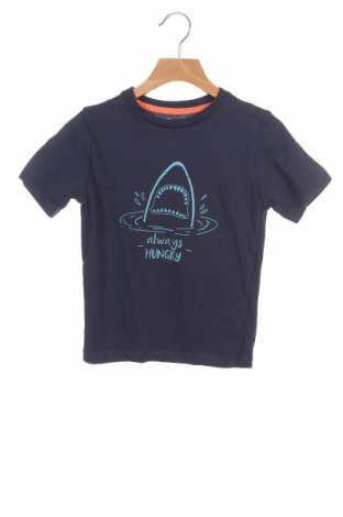 Dziecięcy T-shirt Mo, Rozmiar 3-4y/ 104-110 cm, Kolor Niebieski, 100% bawełna, Cena 39,00zł