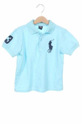 Tricou pentru copii Polo By Ralph Lauren, Mărime 12-13y/ 158-164 cm, Culoare Albastru, Preț 78,95 Lei