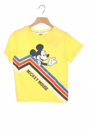 Παιδικό μπλουζάκι ZY kids, Μέγεθος 5-6y/ 116-122 εκ., Χρώμα Κίτρινο, Βαμβάκι, Τιμή 7,37€